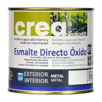 Esmalte directo óxido negro 500 ml