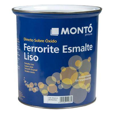 Esmalte anioxidante ferrorite blanco 4 L