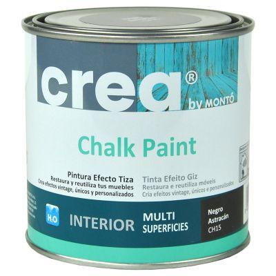 Pintura Chalk 500 ml negro astracan