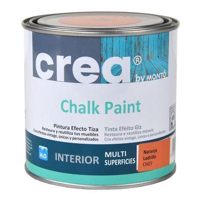 Pintura Chalk 500 ml naranja Ladrillo