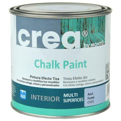 Pintura Chalk 500 ml azul fumé