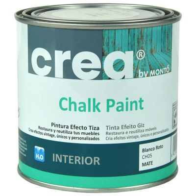 Pintura Chalk 500 ml blanco roto