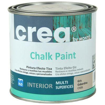 Pintura Chalk 500 ml gris gabardina