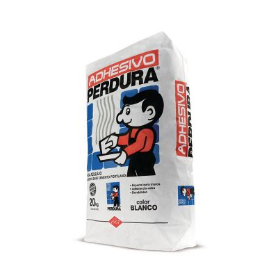 Adhesivo Perdura blanco 20 kg