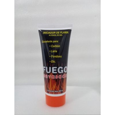 Iniciador de flama tubo gel 200 ml