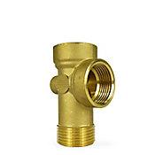 Conector de 5 vías para equipos hidroneumáticos