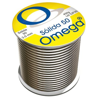 Soldadura omega sólida 50 de 450 grs