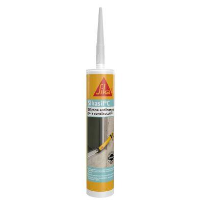 Silicón AC Transparente Cartucho 280 ml
