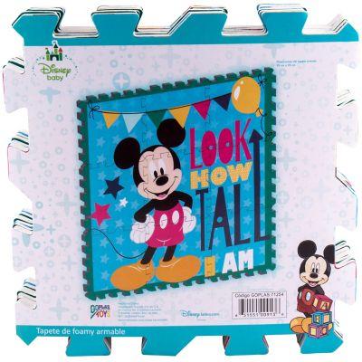 Tapete de goma armable Mickey 96x96 cm