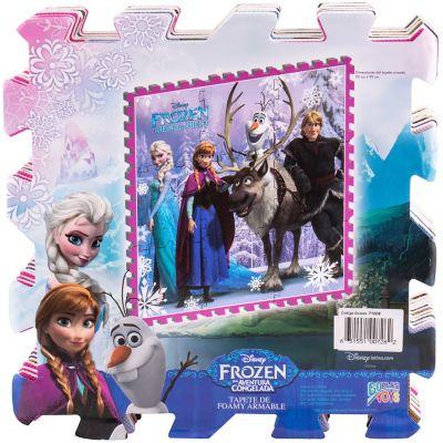 Tapete de goma armable Frozen 96x96 cm