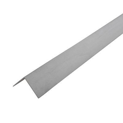 Ángulo 25 x 25 x 1 mm aluminio anodizado plata 1 m