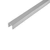 Perfil de aluminio natural 10 x 13 x 1.5 mm 1 m