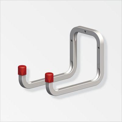 Gancho doble acero galvanizado 250 x 120 x 98 mm