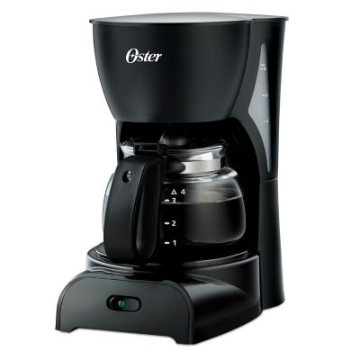 Cafetera de Goteo para 4 Tazas negra