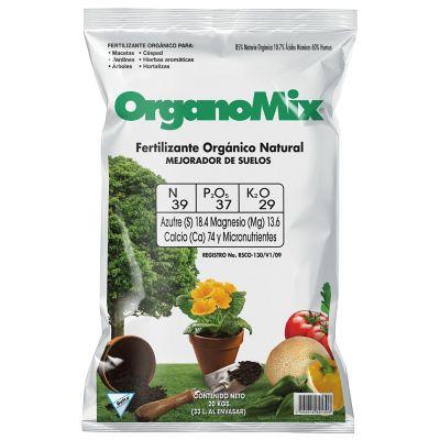 Fertilizante orgánico natural mejorador de suelos 10 kg