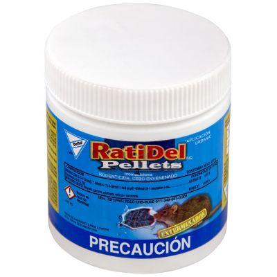 Raticida pellets a base de bromadiolona 100 g