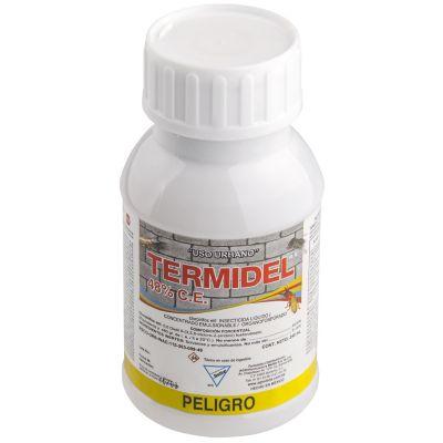 Termiticida termidel control de termitas para pre/pos construcción 240ml