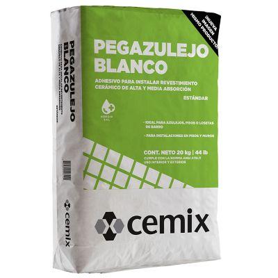 Adhesivo Pegazulejo blanco 20 kg