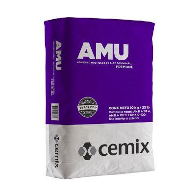 Adhesivo AMU blanco 10 kg