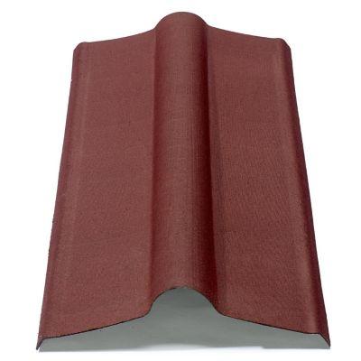 Cumbrera Stilo/Onduvilla 2 x 0.48 m impermeable rojo