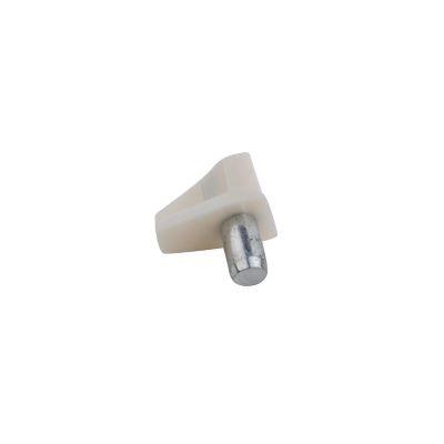 Sosten para entrepaño blanco con perno metálico