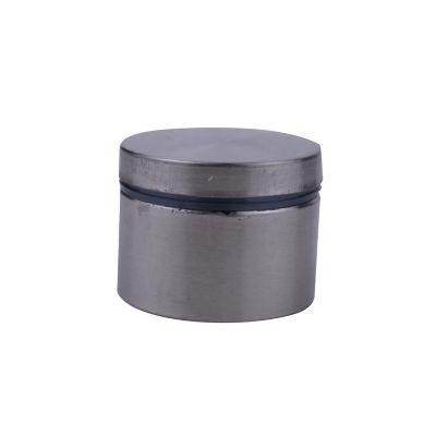 Herraje de sujeción p/vidrio templado 40 x 25 mm