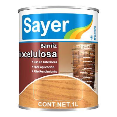 Barniz Nitrocelulosa 1 L mate