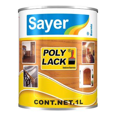 Barniz poliuretano interior Poly Lack 1 L brillante