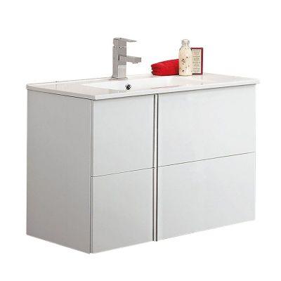 Mueble de baño Onix con espejo blanco