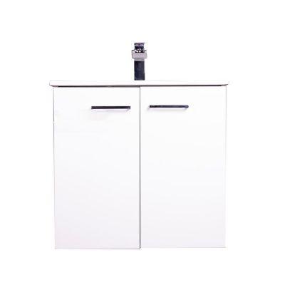 Mueble de baño Street con espejo blanco