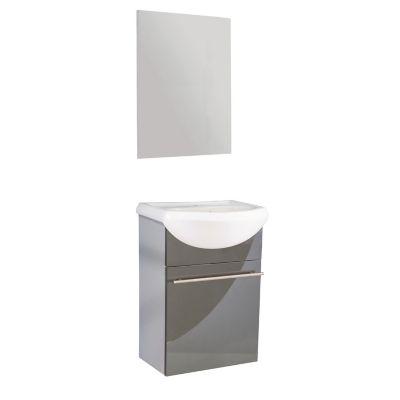 Mueble de baño Infinity con espejo gris