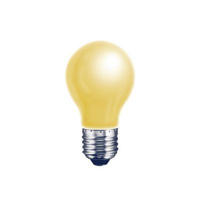 Foco incandescente repelente amarillo 40W E27