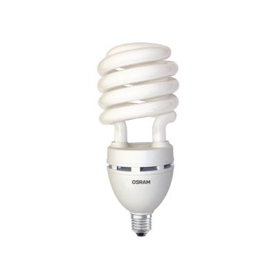 Foco CFL espiral 65W fría 4160lm 250W E27
