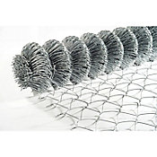 Malla ciclónica galvanizada cal 12.5 2 x 20 m