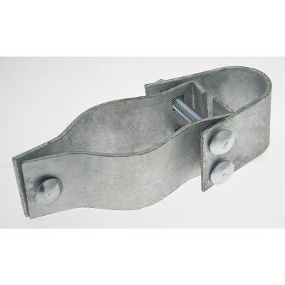 Bisagra industrial para poste de 48 mm