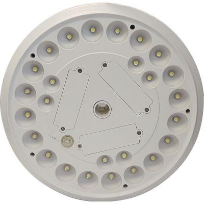 Luminaria solar LED circ 2W