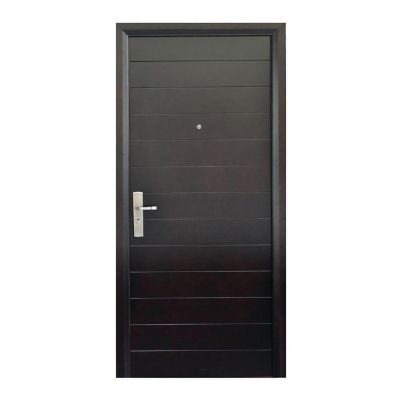 Puerta seguridad Contempo nogal derecha 86 x 213 cm