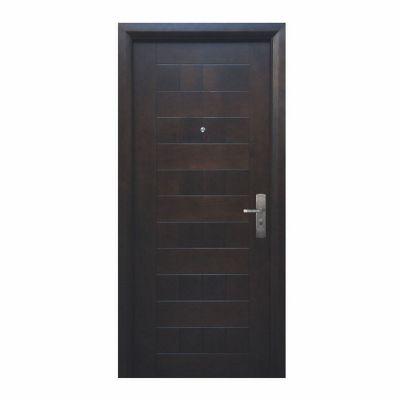 Puerta seguridad Versa nogal izquierda 96 x 213 cm