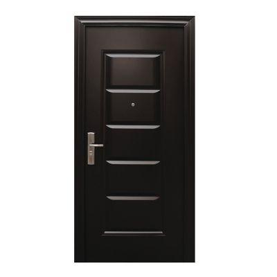 Puerta seguridad Inova chocolate derecha 95 x 213 cm