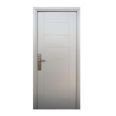 Puerta seguridad Hi-Tech plata derecha 95 x 213 cm