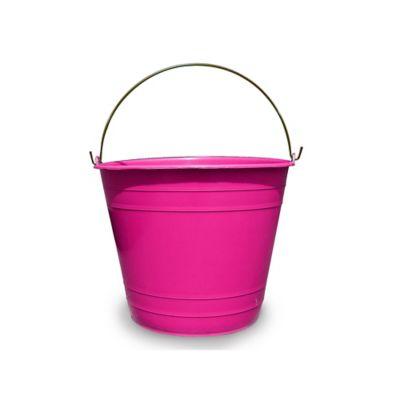Cubeta rosa 8 L