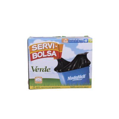 Bolsa para basura nudo fácil gigante