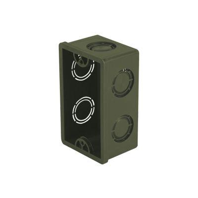 """Caja chalupa PVC 12"""" p/uso de canalización cables"""