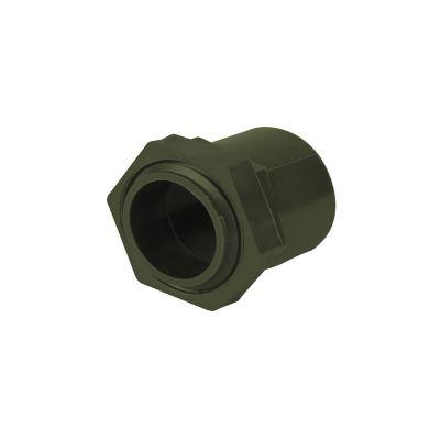 """Conector conduit ligero PVC de 3/4"""" uso de canalización de cables"""