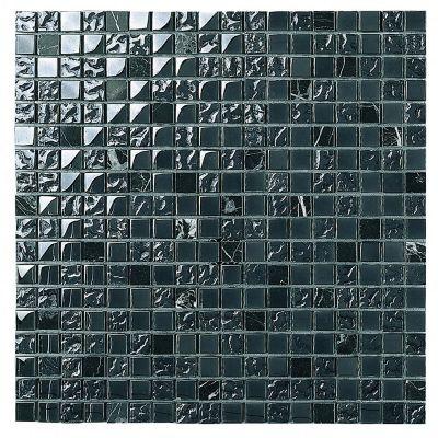 Malla Atlántida negro 30X30 cm