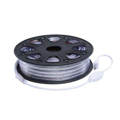 Manguera plana led 3528 SMD 127V IP65 blanco cálido