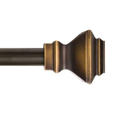 """Cortinero Lincoln 1"""" 122x218 cm bronce"""