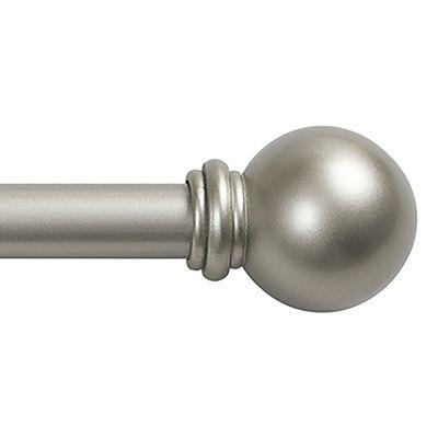 Cortinero Chelsea 71x122 cm plata