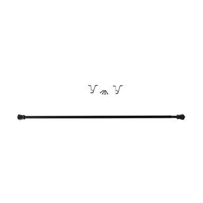 "Cortinero Crods 7/16"" 71x122 cm negro"