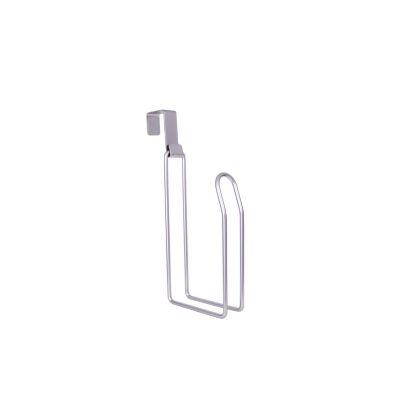 Gancho para papel de baño de niquel cepillado 31  x 16.5  x 6 cm